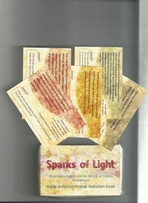 Sparks of Tshuva Cards